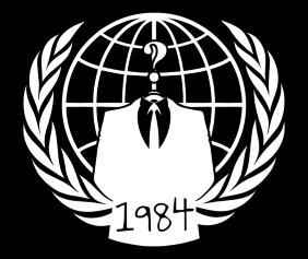 1984 Black Tshirt Logo