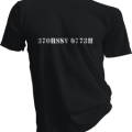 370HSSV 0773H Mens Black Tshirt