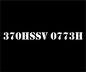 370HSSV 0773H
