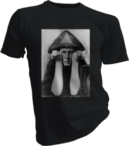 Aleister Crowley Black Tshirt