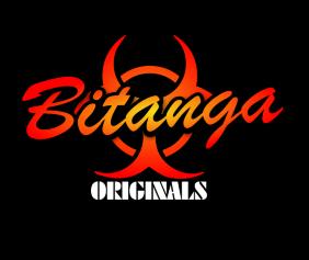 Bitanga Originals Black Tshirt Logo