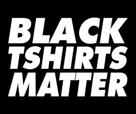Black Tshirts Matter Logo