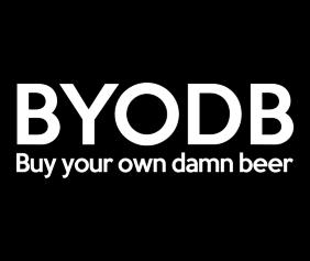 buy-your-own-damn-beer-black-tshirt-logo
