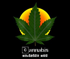 cannabis-medicine-man-black-tshirt-logo