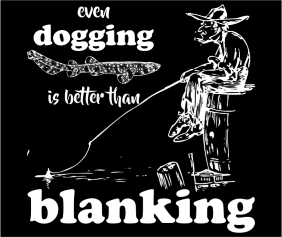 Even Dogging Is Better Than Blanking Black Logo