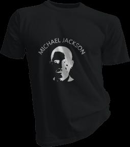 FAIL Michael Jackson Mens Black Tshirt