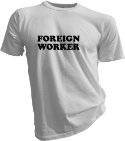 foreign-worker-white-tshirt