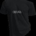 :(){:|:&};: Forkbomb Mens Black Tshirt