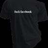 Fuck Facebook Black Tshirt