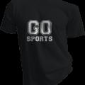 Go Sports Mens Black Tshirt