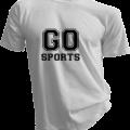 Go Sports Mens White Tshirt