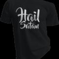 Hail Satan Black Tshirt