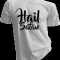 Hail Satan White Tshirt