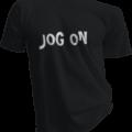 Jog On Black Tshirt