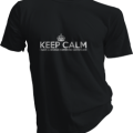 Keep Calm I Have A Bronze Swimming Certificate Mens Black Tshirt