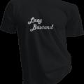 Lazy Bastard Black Tshirt