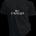 No Chugger Mens Black Tshirt