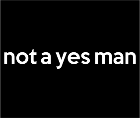 not-a-yes-man-black-tshirt-logo