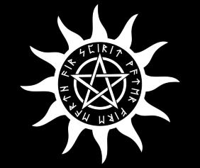 pagan-water-fire-earth-air-spirit-black-tshirt-logo