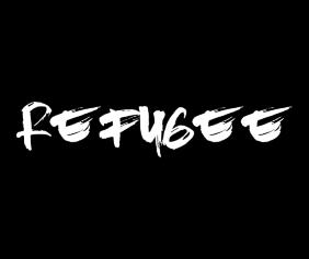 Refugee Black Logo