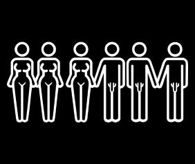 Same Sex Different Sex Any Sex Black Tshirt Logo