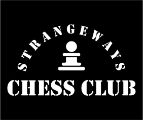 Strangeways Chess Club Black Logo