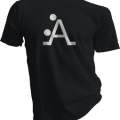 The A Position Mens Black Tshirt