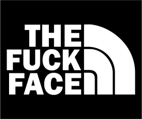 The Fuck Face Black Logo