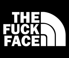 The Fuck Face Black Logo