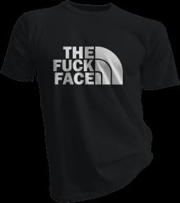 The Fuck Face Black Tshirt