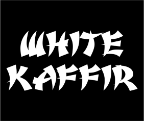 white-kaffir-black-tshirt-logo