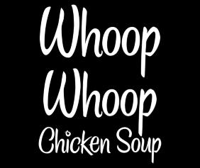 whoop-whoop-chicken-soup-black-tshirt-logo