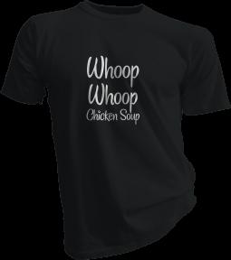 whoop-whoop-chicken-soup-black-tshirt