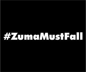 ZumaMustFall Black Logo
