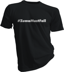 ZumaMustFall Black Tshirt