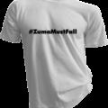 ZumaMustFall White Tshirt