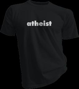 atheist Black Tshirt