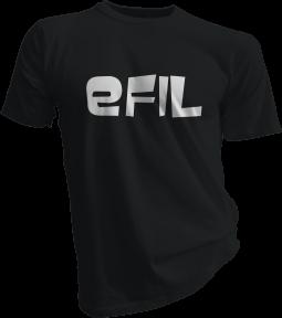 efiL Black Tshirt