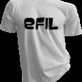 efiL White Tshirt